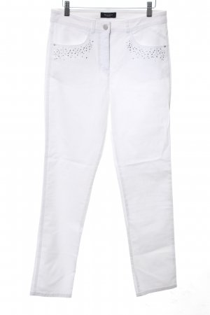 Bexleys Slim Jeans white casual look