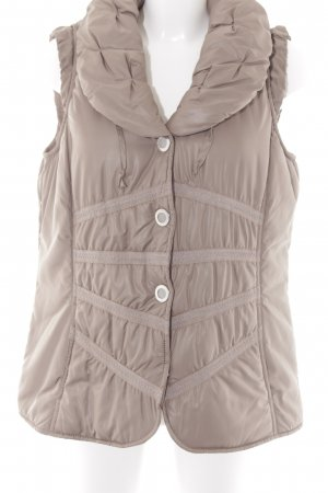 Bexleys Steppweste beige Casual-Look