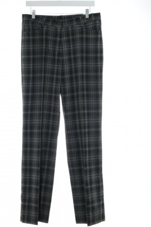 Bexleys Jersey Pants blue-light grey check pattern business style