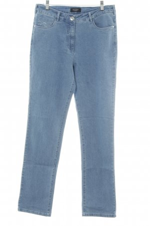 Bexleys Straight-Leg Jeans blassblau Casual-Look