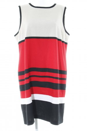 Bexleys Pinafore dress striped pattern casual look