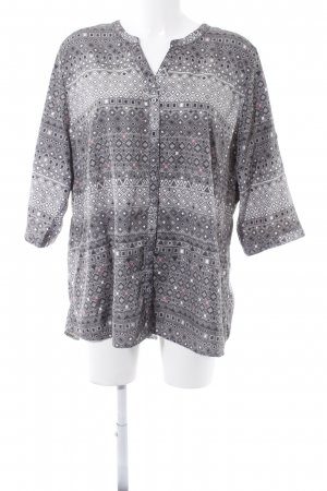 Bexleys Tunikabluse Aztekenmuster Casual-Look