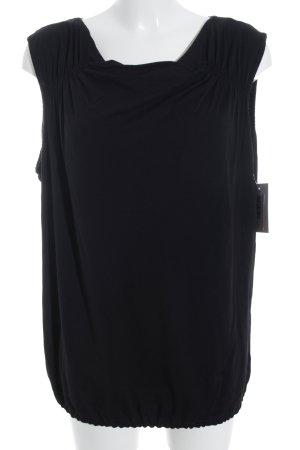 Bexleys Cowl-Neck Top black simple style