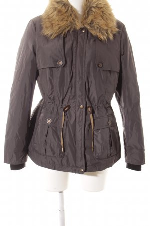 Bexleys Winterjacke grau-beige Casual-Look