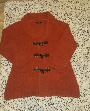 Bexleys Coarse Knitted Jacket russet