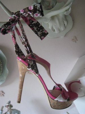 Guess High Heel Sandal multicolored leather