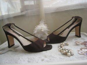 Bezaubernde Escada Luxus Schuhe Mocca Elegant & Edel NP 359 € Top