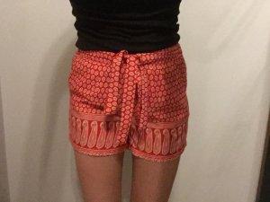 LTB Shorts blanco-rojo Poliéster