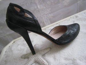 Bezaubernde Luxus Leder Heels Stilettos 13 cm Elegant & Edel Top