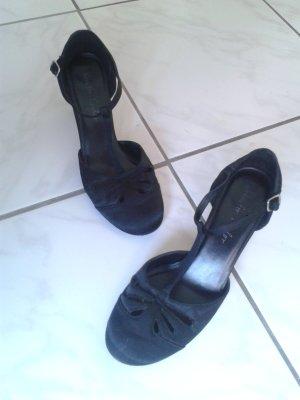 bezaubernde Schuhe Riemchen Pumps Tanzschuhe Lolita Mary Jane Style - WIE NEU !!