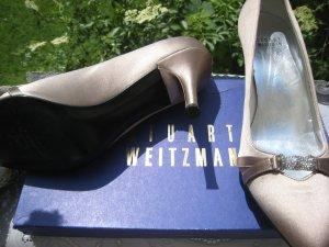 Bezaubernde Stuart Weitzman Luxus Schühchen Elegant & Edel 8,5 > 39-40 NP 437 € Top