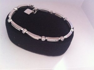 Pierre Cardin Bracelet silver-colored real silver