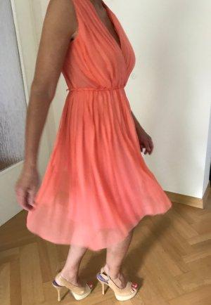 Bezauberndes Designer Seidenkleid von Max Mara. Hochzeit, Sommerparty, was steht an?