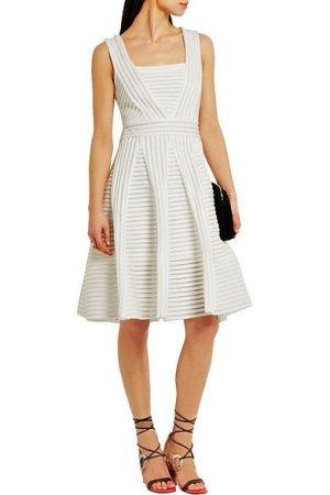 Maje Cocktail Dress white polyester