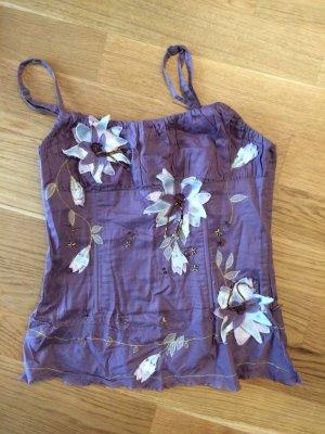 Stefanel Haut type corsage violet