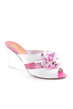 BF Colección Europa Sandalo con tacco multicolore stile stravagante