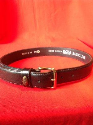 Cinturón de cuero azul oscuro Cuero
