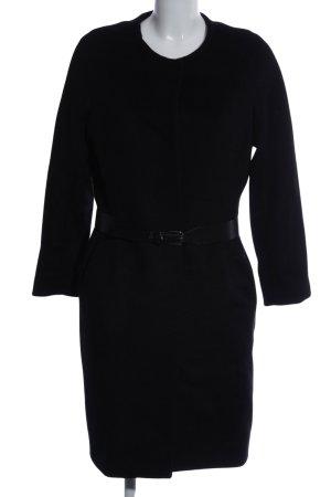 BGN Abrigo de lana negro estilo «business»