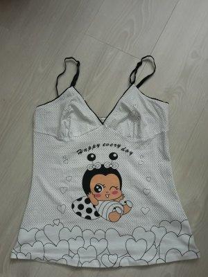 BH Hemdchen oder Schlafhemd mit String Größe 36 NEU