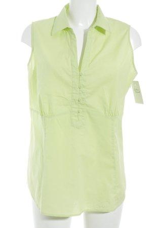 Biaggini Mouwloze blouse weidegroen