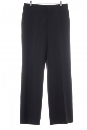 Biaggini Pleated Trousers black business style