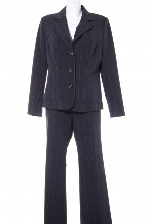 Biaggini Trouser Suit pinstripe business style