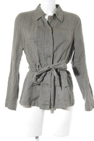 Biaggini Linen Blouse khaki casual look