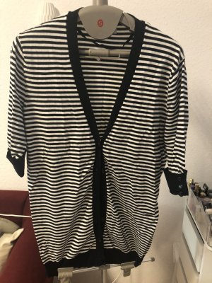 Biaggini Knitted Blazer white-black