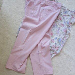 Biaggini Pantalón tobillero rosa