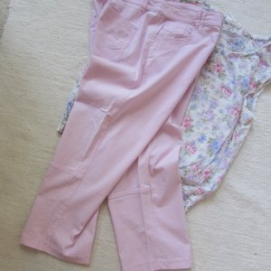 Biaggini * %Summer Sale% Traum 7/8 Sommer Stretch Hose * Softeis-rosa * 42 (44/46)
