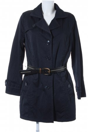 Biaggini Trenchcoat dunkelblau Casual-Look