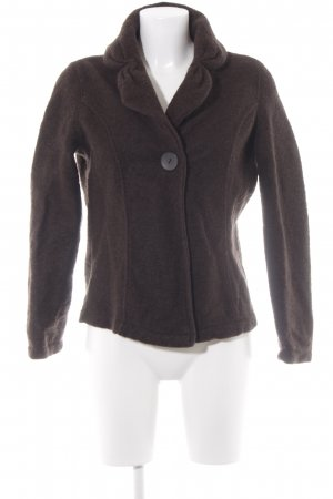 Biaggini Wool Blazer black brown casual look