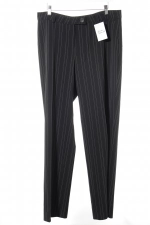 Bianca Suit Trouser black pinstripe business style