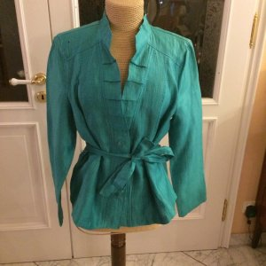 Bianca Blouse-chemisier turquoise