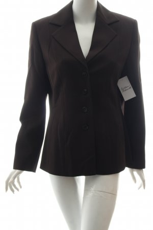 Bianca Blazer marrone scuro stile professionale