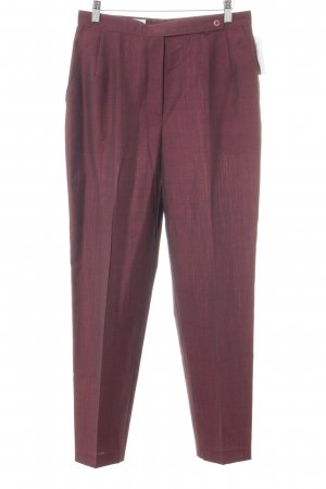 Bianca Pleated Trousers carmine flecked business style