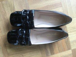 Patent Leather Ballerinas black leather