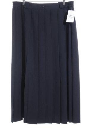 Bianca Faltenrock dunkelblau 90ies-Stil