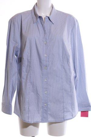 Bianca Hemd-Bluse blau-weiß Streifenmuster Business-Look