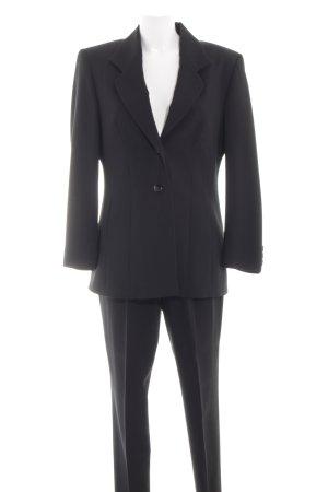 Bianca Tailleur-pantalon noir style d'affaires