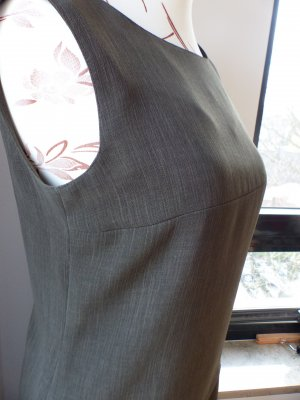 Bianca Kostüm (Rock und Shirt) grau Business-Look -wie neu