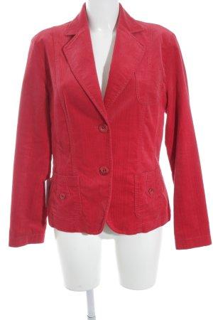 Bianca Blazer corto rojo-rojo ladrillo estilo «business»