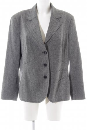 Bianca Long-Blazer hellgrau meliert Business-Look