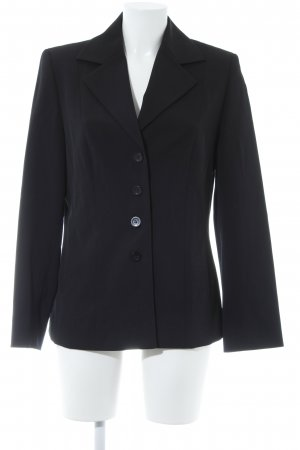 Bianca Long-Blazer schwarz Business-Look