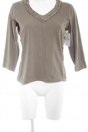 Bianca Longsleeve light brown-bronze-colored casual look