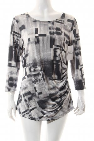 Bianca Shirt grafisches Muster Casual-Look
