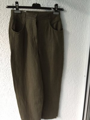 Bianca 7/8 Length Trousers green grey