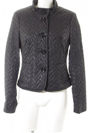 Bianca Quilted Jacket black quilting pattern casual look