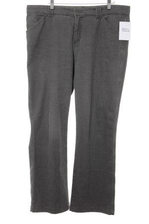 Bianca Pantalone jersey grigio stile casual