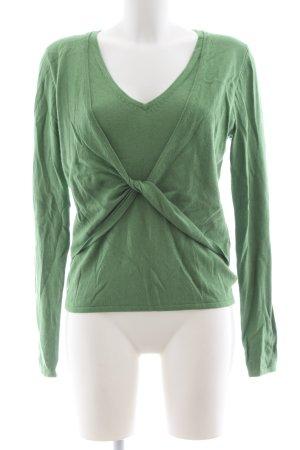 Bianca Strickpullover grün Casual-Look